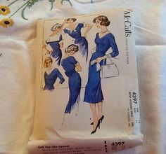 McCall's 4397 Dress Pattern Circa 1957 by ContemporaryVintage