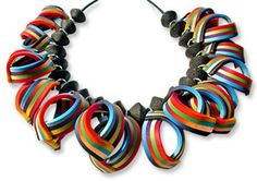 Ortiz de la Torre's ribbon necklace on PCD