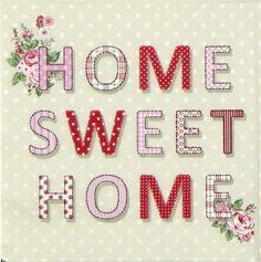Home Sweet Home Vintage home sweet home   home sweet home - heart plaque   pinterest