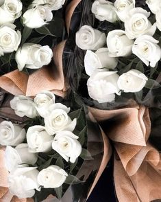 Starting off our week with white roses. There is nothing better than fresh flowers on your desk when it's feeling like Spring . Starting off our week with white roses. There is nothing better than fresh flowers on your desk when it's feeling like Spring . Beautiful Bouquet Of Flowers, Fresh Flowers, White Flowers, Beautiful Flowers, White Roses Background, White Roses Wallpaper, Bouquet Flowers, Plants Are Friends, Flower Aesthetic