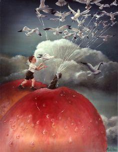 James and the giant peach. Karen Watson.
