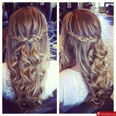 Such a lovely hairstyle!!!
