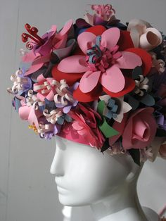 Grace Designs: Paper Flower Headpieces by Eloise Corr Danch