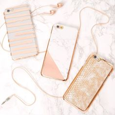Glam up your #TechTuesday with our super cute rose gold cases