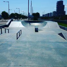 Forum Skatepark - Barcelona, Catalonia
