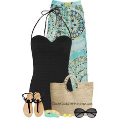 Get Beachy, created by cindycook10 on Polyvore
