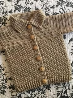 45 Free baby sweater crochet patterns - Page 34 of 45 - hotcrochet .com patterns free baby 45 Free baby sweater crochet patterns - Page 34 of 45 - hotcrochet . Crochet Toddler Sweater, Crochet Baby Sweater Pattern, Crochet Baby Sweaters, Gilet Crochet, Baby Sweater Patterns, Baby Afghan Crochet, Crochet For Boys, Baby Patterns, Baby Knitting