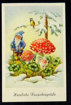 Herzliche Neujahrsgrüße Gnome