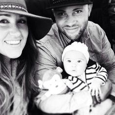 The Crosby Family (Josh, Britt Nicole, & Ella) :) #brittnicole #brittnicoleglow #ella #ellabrave #ellabravecrosby