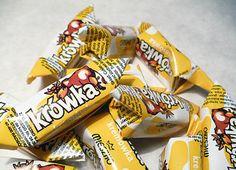 Polish candies: krowki Krowki (plural; Krowka singular), literally 'little cows', are Polish fudge, semi-soft milk toffee candies. It is one of the most common Polish confectioneries, sold worldwide Wikipedia
