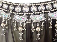 Kuchi Belt Belly Dance Hip Scarf Skirt Jewelry Tribal | eBay