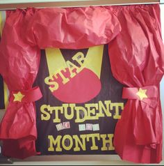 Music Star Student of the Month Bulletin Board that I made.