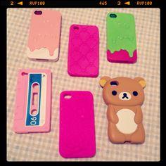 capinha/cases IPhone: minhas :)