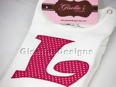 Personalized Initial Applique shirt