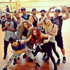 First day of #SaluteTour rehearsals! x