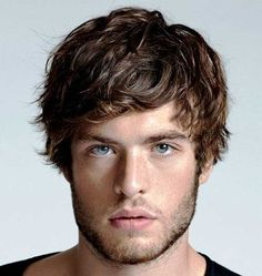Curly Thin Hair for Guys
