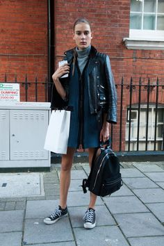 Pin for Later: The Best Model-Off-Duty Style at Fashion Week London Fashion Week