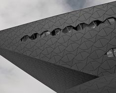 EQUITONE is a through-coloured facade material designed by and for architects. Shadow Architecture, Architecture Design, Amsterdam, Gros Morne, Curved Walls, Steel Panels, Plant Images, Architectural Features, Building Exterior