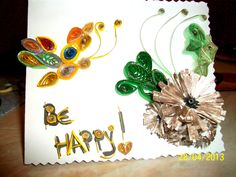 Be happy card !