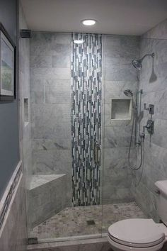 Adorable Master Bathroom Shower Remodel Ideas 54