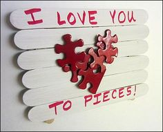 Valentines Day Projects for Preschoolers and Toddlers at daycare or home