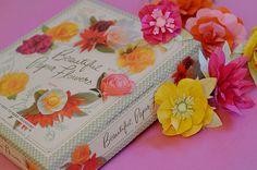 My paper flowers kit.