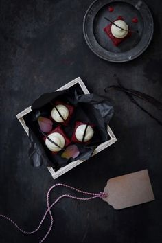 These delightful red velvet petit fours combine two favourite recipes to make one fabulous treat. Package as a gift or make for your next tea time. Cocoa Recipes, Wine Recipes, Sweet Recipes, Tea Cakes, Mini Cakes, Cupcake Cakes, Cupcakes, Red Velvet Petit Fours Recipe, Dessert Book