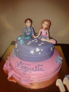 violetta cake www.facebook.com/criaideia