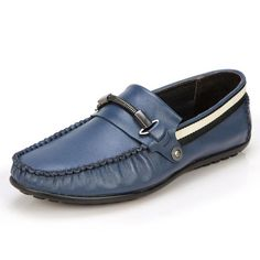 Sunrolan Men's Dress Shoes Cow Leather Flat Shoes Dress Moccasin Driving Loafer Xr5178 $44.99 - $64.99
