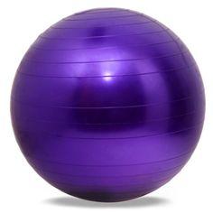 Yoga Fitness Ball 65cm Utility Yoga Balls Pilates Balance Sport Fitball Balls Anti-slip for Fitness Training