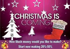 Start Avon for only $15 dollars!!!! Join my Avon Team GoalGetters #avon #avonrep #sellavon #sellavononline #holiday #money #discounts #earn #earnmoney #bonuses #checks #shopandearn #gifts #fun #women #beautyforapurpose #avonbrochure #lovewhatyoudo #dowhatyoulove #leadership #directsales #130yearsstrong #sisterhood https://monicahertzog.avonrepresentative.com/opportunity