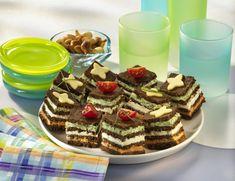Unser beliebtes Rezept für Pumpernickel-Häppchen mit Frischkäsefüllung und mehr als 55.000 weitere kostenlose Rezepte auf LECKER.de.
