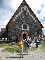 Pyhän Olavin kirkko Castles, Medieval, Building, Travel, Viajes, Chateaus, Buildings, Mid Century, Destinations