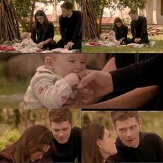 "The Originals – TV Série - Niklaus ""Klaus"" Mikaelson - Joseph Morgan - Hayley Marshall - Phoebe Tonkin - rei e rainha - King and queen - lobo - Wolf - baby Hope Mikaelson - bebê - casal - couple - amor - love - daughter - filha - father - pai - dad - papai - mother - mãe - mom - mamãe - happy family - família feliz - 2x09 - The Map Of Moments - Mapa Dos Momento"