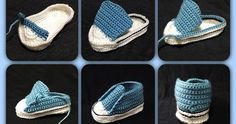 Crochet Converse Baby Booties Pattern Free Video Tutorial Crochet Baby Converse Free Pattern More Knitting works add the time when ladies spend their time to yourself, when they . Crochet Converse, Crochet Baby Shoes, Crochet Baby Booties, Crochet Slippers, Baby Slippers, Crochet Booties Pattern, Knitted Baby, Baby Converse, Tenis Converse