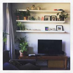 Wanddecoratie shelves planten mooi
