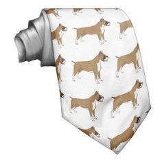Men's tie with fawn Boxers by WoofNWhinny*.