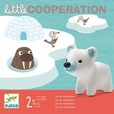DJECO little cooperation noordpool spel jr+ Fun Games For Kids, Cute Kids, Sweet Games, Cooperative Games, Old Boxes, Soft Plastic, Cloud 9, A Boutique, Teaching Kids
