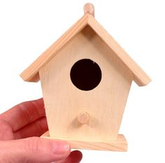 Creative Hobbies Mini 4 Inch Tall Birdhouse Set of 4 Styles Unfinished Wood Ready to Paint or Decorate -- Extra information can be discovered at the picture url. (This is an affiliate link). Fun Rainy Day Activities, Wholesale Crafts, Wood Bird, Wood Detail, Kids Wood, House Made, Unfinished Wood, Bird Houses, Painting On Wood