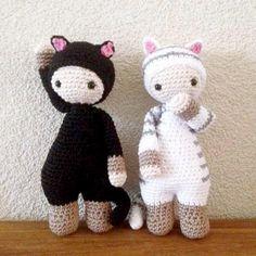 mini kitty lalylala gratis patroon