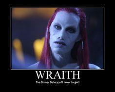 Wraith motivational poster! Stargate: Atlantis