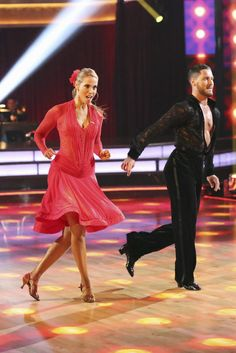 Amusing moment dancing with the stars val and elizabeth hookup phrase... super