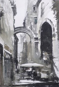 Diocletian Palace and now, an ordinary street, Tony Belobrajdic