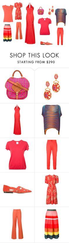 """Fashion ref"" by emmamegan-5678 ❤ liked on Polyvore featuring Maison Margiela, Oscar de la Renta, ZAC Zac Posen, Issey Miyake, Barrie, Etro, Derek Lam, Rebecca Taylor, Diane Von Furstenberg and Paul Smith"