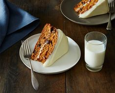 Despite the inclusion of an unusual ingredient - a can of soup - the result is a rich and complex spice cake with the perfect soft cream cheese frosting.