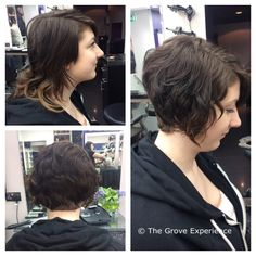 Short graduated bob created by Remy. Short Graduated Bob, Hairdresser, Relax, Beautiful, Barber Shop