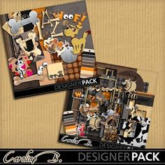 Digital Scrapbooking Kits | My One And My Only Dog Bundle-(carolnb) | Animals - Pets, Family, Friends, Kid Fun, Nature, Outdoors | MyMemories