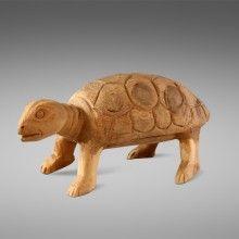 Schildpad van hout