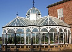 Bespoke English Conservatory with a Lantern. I would love a small one of these at my future home <3