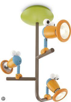 Philips Mykidsroom Birdey Plafondlamp - 3-lichts - Multicolor | Wonen